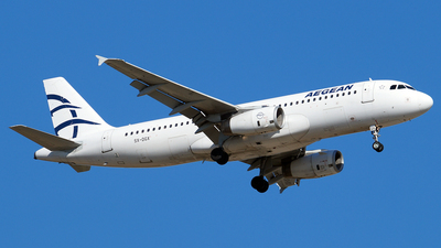 A picture of SXDGX - Airbus A320232 - Aegean Airlines - © Hugo Schwarzer