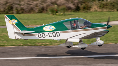 OO-CQD - Robin DR400/120 Dauphin 2+2 - Private