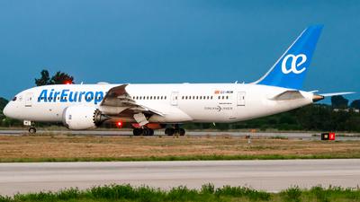 A picture of ECMOM - Boeing 7878 Dreamliner - Air Europa - © Fabrizio Spicuglia