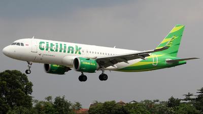 A picture of PKGTA - Airbus A320251N - Citilink - © Luqman Alif