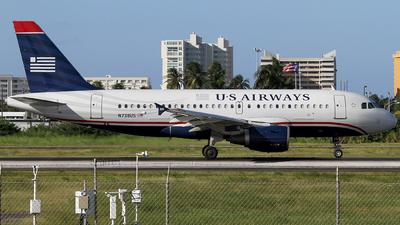 N738US - Airbus A319-112 - US Airways