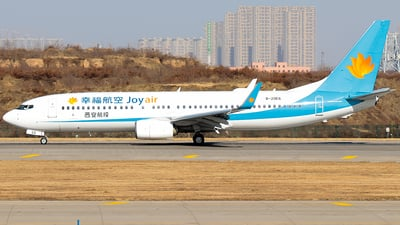 A picture of B20E6 - Boeing 7378JP - JoyAir - © Jinshui Road