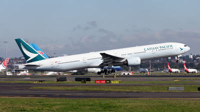B-HNF - Boeing 777-367 - Cathay Pacific Airways