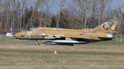 682 - Sukhoi Su-22M4 Fitter K - German Democratic Republic - Air Force