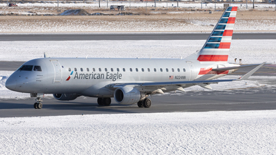 A picture of N224NN - Embraer E175LR - American Airlines - © Mike MacKinnon