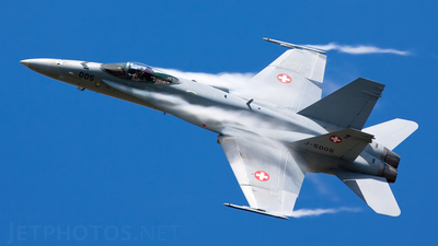 J-5005 - McDonnell Douglas F/A-18C Hornet - Switzerland - Air Force