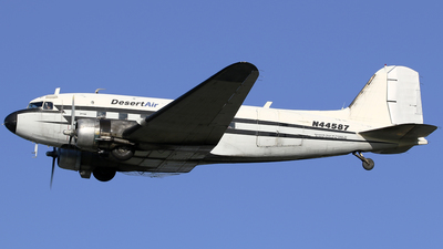 N44587 - Douglas DC-3C - Desert Air Transport