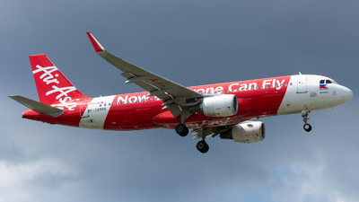 A picture of RPC8966 - Airbus A320216 - AirAsia - © Nek Aberia-Philippine Aviators
