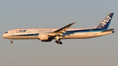 JA892A - Boeing 787-9 Dreamliner - All Nippon Airways (Air Japan)