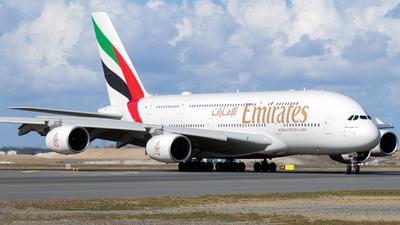 A6-EVP - Airbus A380-842 - Emirates