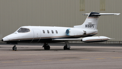 N166PC - Gates Learjet 25B - Private