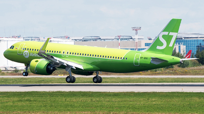 VP-BVI - Airbus A320-271N - S7 Airlines