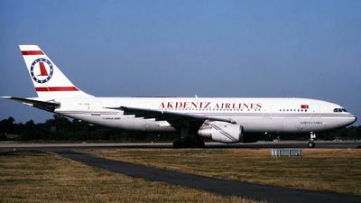 TC-TKA - Airbus A300B4-103 - Akdeniz Airlines
