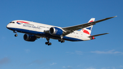 G-ZBJF - Boeing 787-8 Dreamliner - British Airways