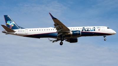 A picture of PRAUH - Embraer E195AR - Azul Linhas Aereas - © CACSPOTTER