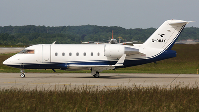 G-OWAY - Bombardier CL-600-2B16 Challenger 601-3A - Air Charter Scotland