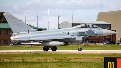 30-64 - Eurofighter Typhoon EF2000 - Germany - Air Force