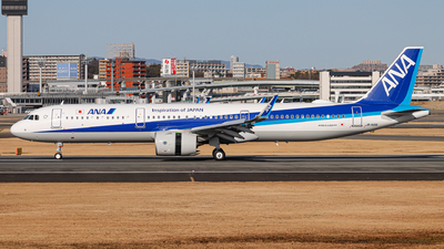 JA148A - Airbus A321-272N - All Nippon Airways (ANA)