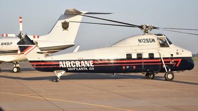 N126GW - Sikorsky S-58T - Aircrane
