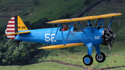 PR-ZIX - Boeing A75N1 Stearman - Private