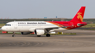A picture of B6938 - Airbus A320214 - Shenzhen Airlines - © SZ4509