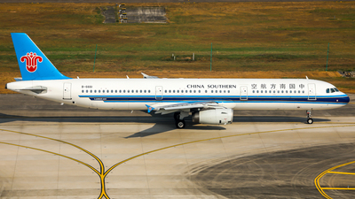 B-6661 - Airbus A321-231 - China Southern Airlines
