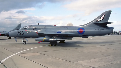 XL580 - Hawker Hunter T.8M - United Kingdom - Royal Navy