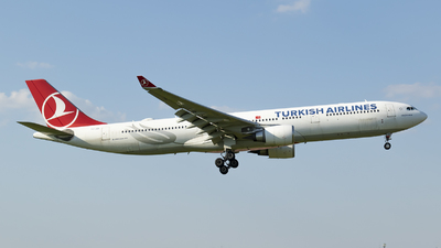 A picture of TCJOI - Airbus A330303 - Turkish Airlines - © RAFAL KUKOWSKI