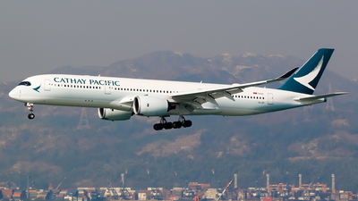 B-LRT - Airbus A350-941 - Cathay Pacific Airways