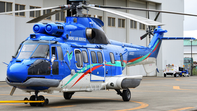JA332T - Aérospatiale AS 332L1 Super Puma - Tohoku Air Service (TAS)