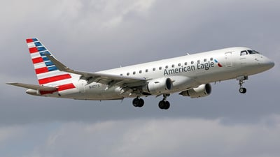 N417YX - Embraer 170-200LR - American Eagle (Republic Airways)