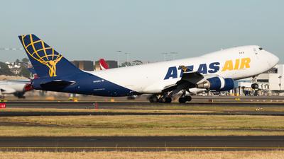 N418MC - Boeing 747-47UF(SCD) - Atlas Air