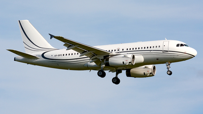 VP-BPE - Airbus A319-133(CJ) - Private Wings