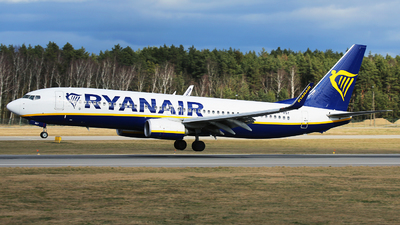 A picture of SPRSY - Boeing 7378AS - Ryanair - © Bogdan Jankowiak