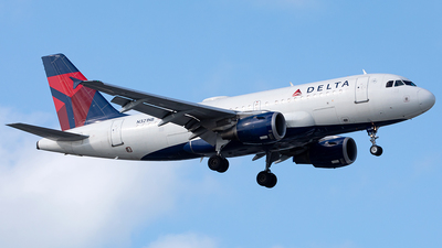 A picture of N321NB - Airbus A319114 - Delta Air Lines - © Manuel Mueller
