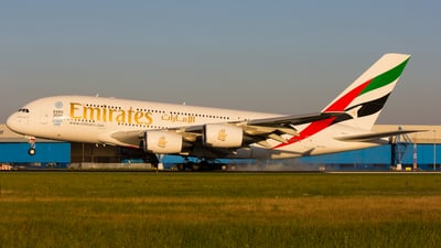 A6-EDY - Airbus A380-861 - Emirates