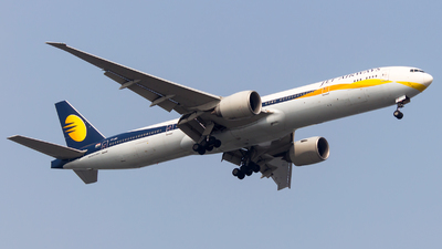 VT-JEV - Boeing 777-35RER - Jet Airways