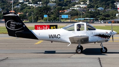 ZK-WAC - Piper PA-38-112 Tomahawk II - Aero Club - Wellington