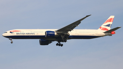 G-STBG - Boeing 777-336ER - British Airways