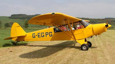 G-EGPG - Piper PA-18-135 Super Cub - Private