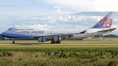 B-18208 - Boeing 747-409 - China Airlines