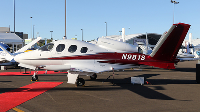 N981S - Cirrus Vision SF50 G2 - Private