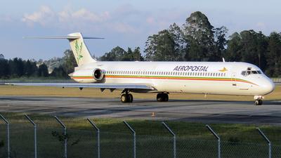YV640T - McDonnell Douglas MD-82 - Aeropostal - Alas de Venezuela