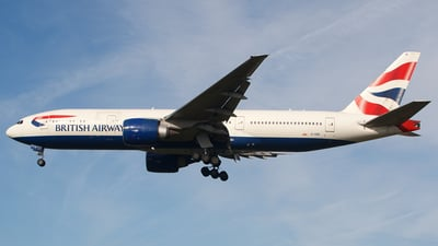 G-VIIK - Boeing 777-236(ER) - British Airways