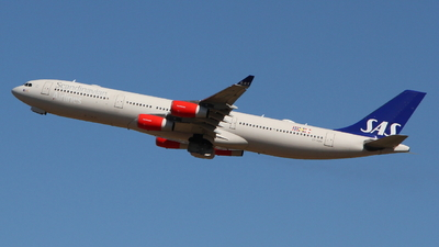 OY-KBA - Airbus A340-313 - Scandinavian Airlines (SAS)