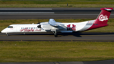 A picture of N402QX - De Havilland Canada Dash 8400 - Alaska Airlines - © TriSpotterWA
