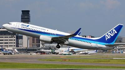 JA80AN - Boeing 737-881 - All Nippon Airways (ANA)
