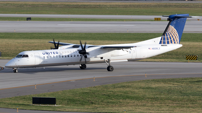 N508LX - Bombardier Dash 8-Q402 - United Express (Republic Airlines)