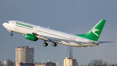 A picture of EZA018 - Boeing 73782K - Turkmenistan Airlines - © Svyatoslav
