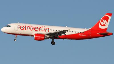 OE-LED - Airbus A320-214 - Air Berlin (Niki)